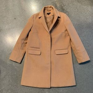 Topshop camel trench peacoat